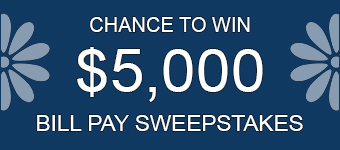Bill Pay Sweepstakes